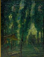 John Henry Twachtman Oil on Canvas