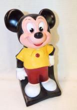 Walt Disney Play Pal Plastics Mickey Mouse Bank