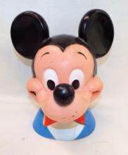 Walt Disney Play Pal Plastic Mickey Mouse Bank