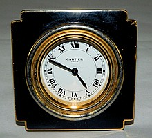 Cartier Alarm Clock