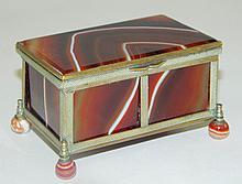 Trinket Box with Stone Inserts