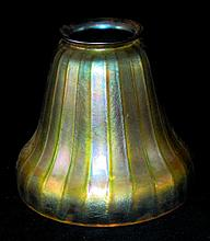 Iridescent Art Glass Lamp Shade