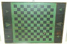 Hand Painted Checkerboard