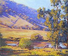 G. Gercken Oil on Canvas Landscape
