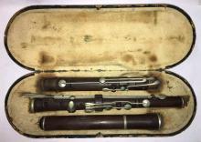 Antique Euler Frankfurt Flute