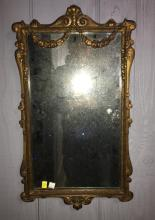 Mirror In Gilt Carved Frame