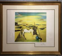 Salvador Dali Pencil Signed & Numbered Lithograph