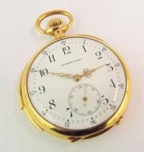18k Gold Swiss Minute Repeater Pocket Watch