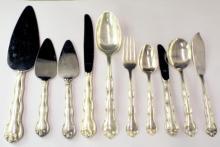 Set Of Gorham Sterling Silver Flatware, Rondo