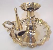 Hallmarked Sterling Silver Finger Candle Stick