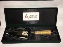 Alan Lee Collection Server With Rhinestone Handle