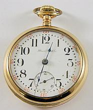 Illinois Watch Co. 17 jewel pocket watch