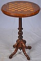 Rose wood inlaid game table