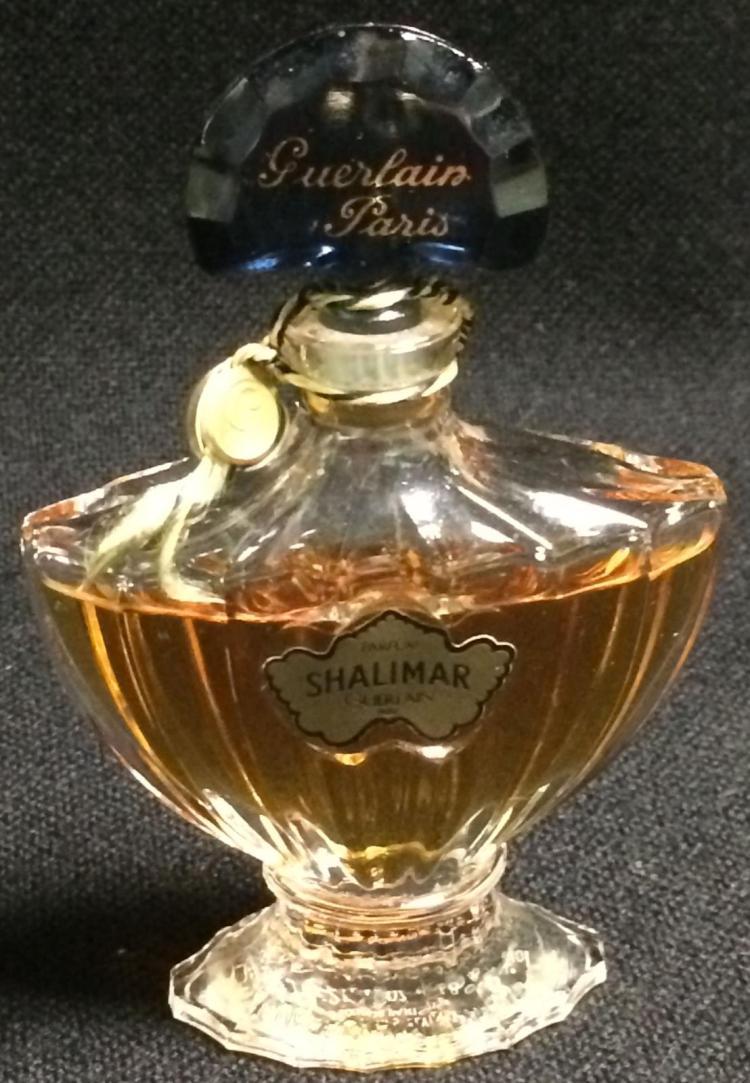 Art Glass Guerlain Paris Shalimar Perfume Bottle