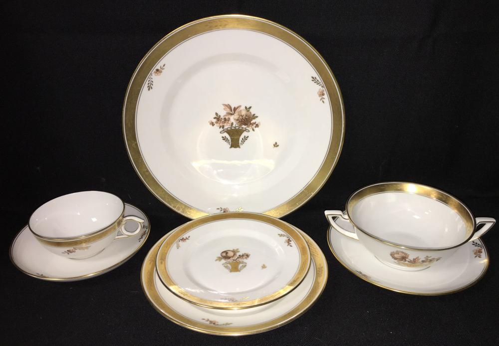 Royal Copenhagen Denmark Dinnerware Set