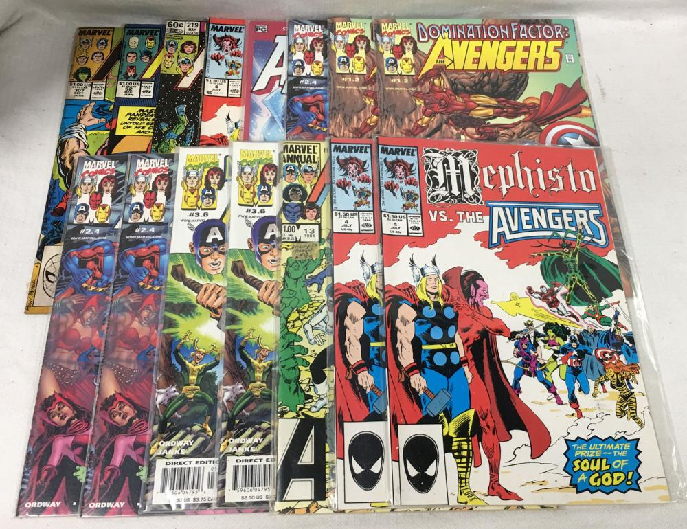15 Misc. Comic Books, Marvel Avengers