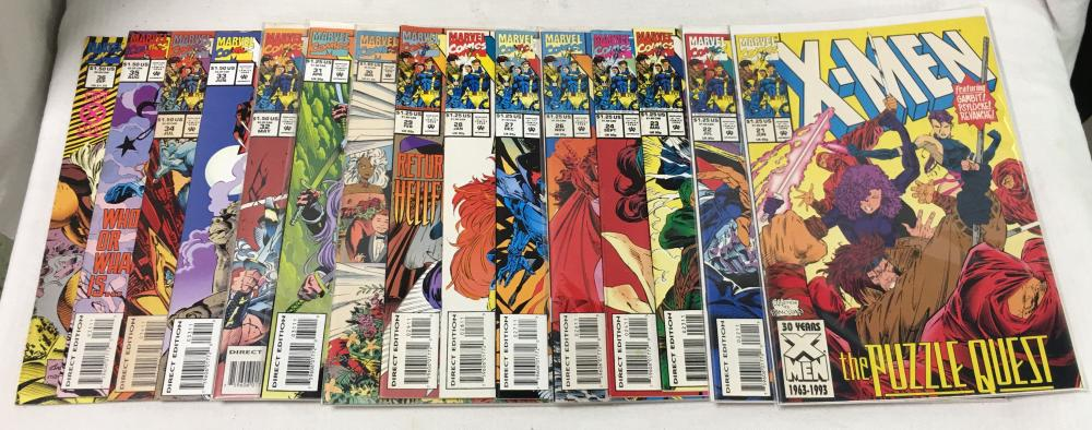 15 Comic Books, Marvel Comics, X - Men