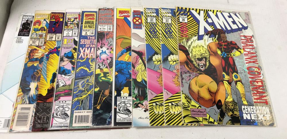 11 Comic Books, Marvel Comics, X - Men