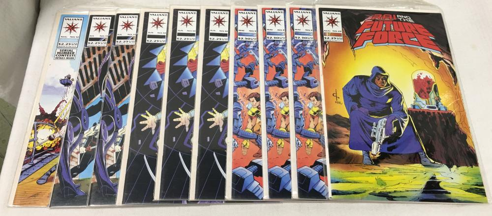 Group Of 10 Misc. Comic Books, Future Force
