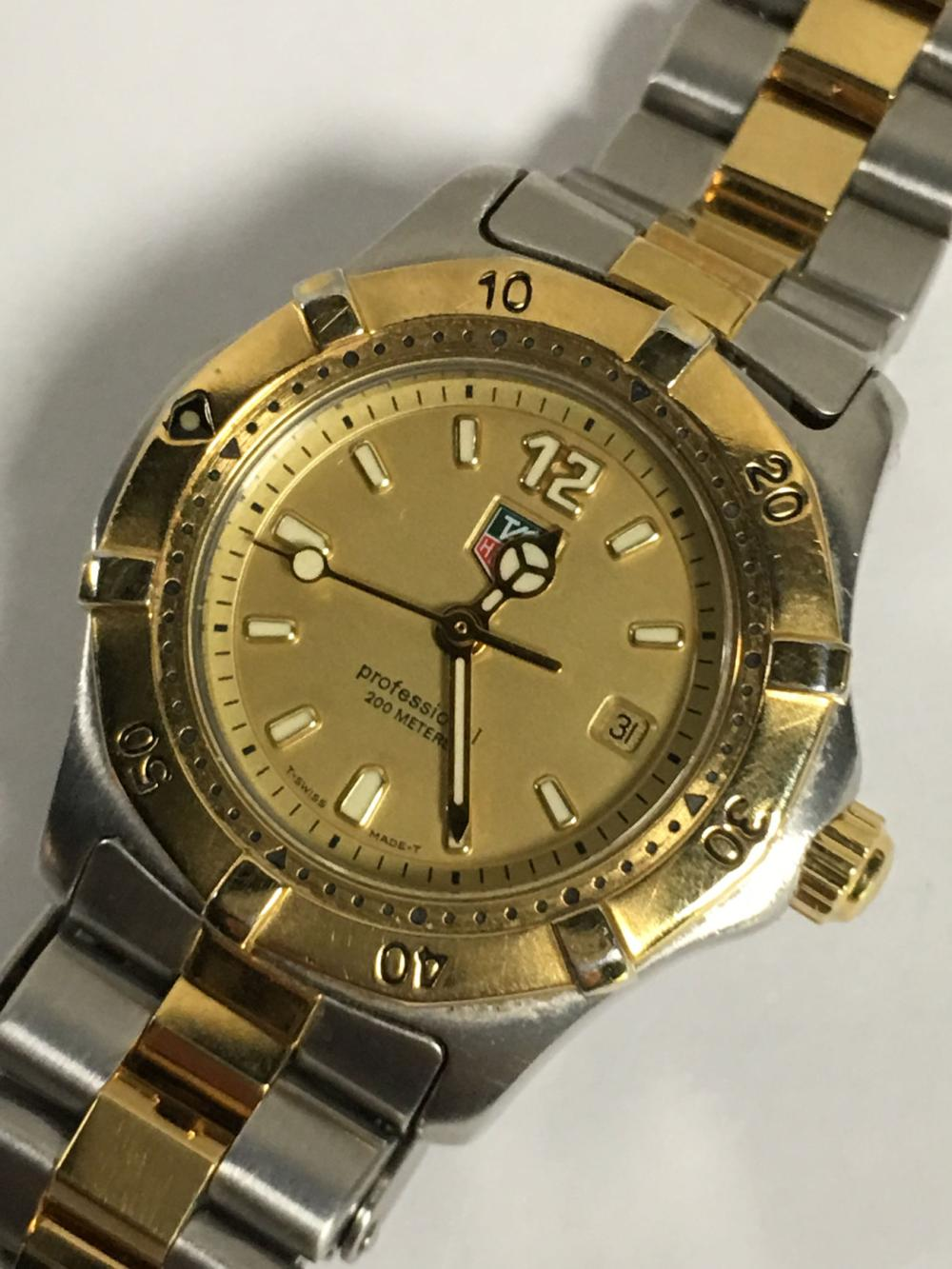 Tag Heuer Professional Wrist Watch