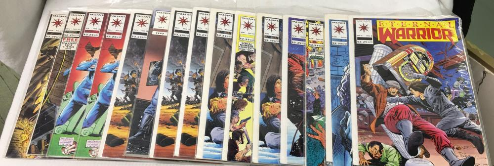 Group Of 15 Misc. Comic Books, Eternal Warrior