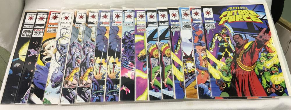 Group Of 16 Misc. Comic Books, Future Force