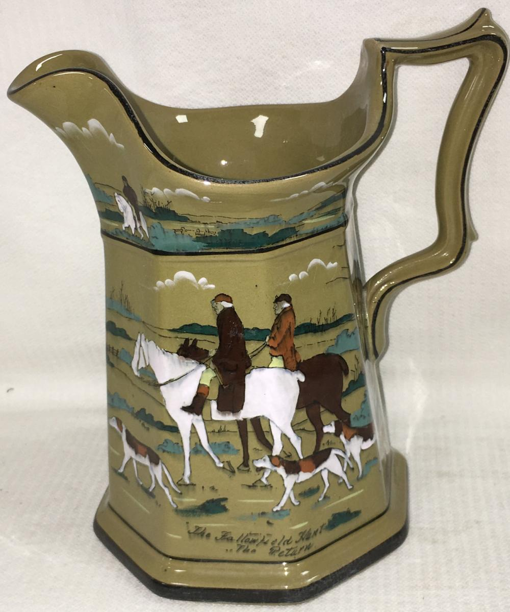 Buffalo Pottery Deldare Ware Pitcher