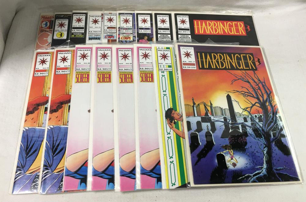 15 Misc. Comic Books, Valiant Harbinger