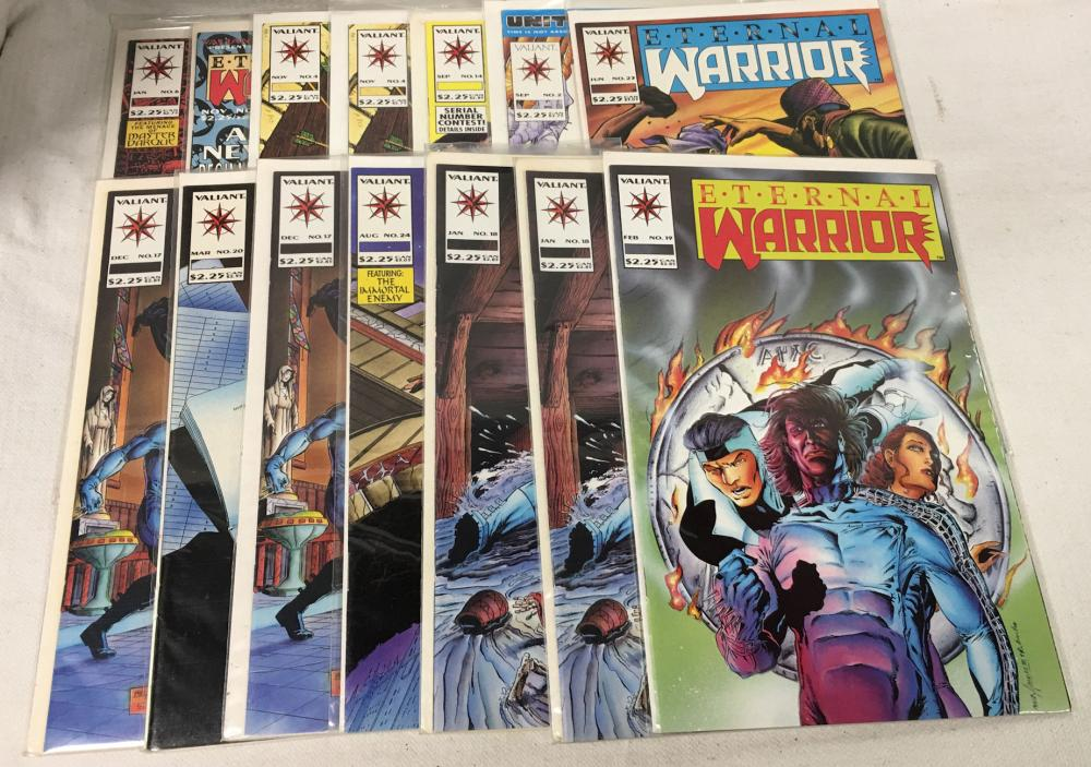 15 Misc. Comic Books, Valiant Eternal Warrior