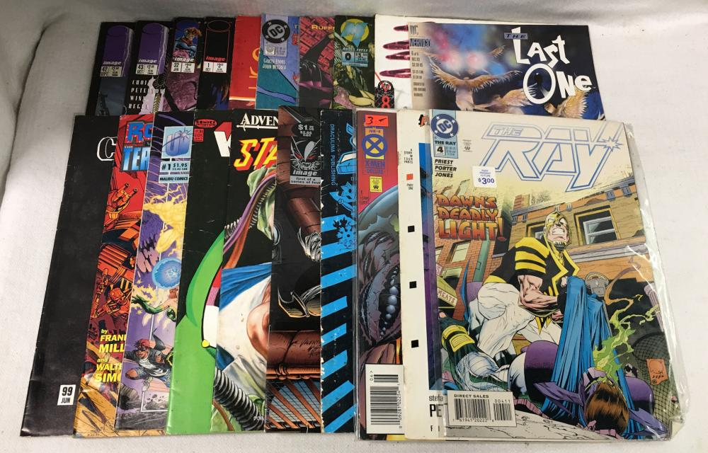 20 Misc. Comic Books