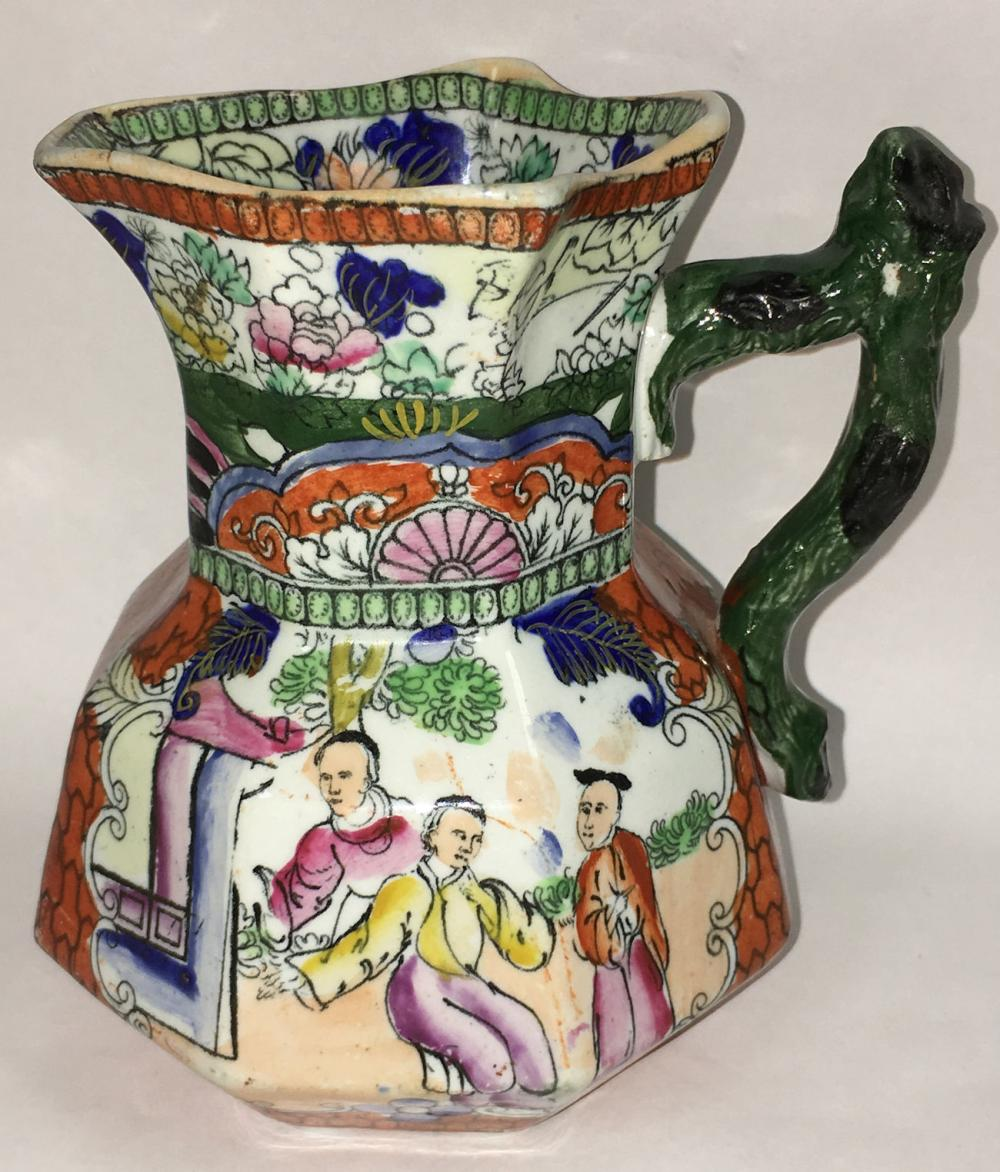 Mason's Ironstone Pitcher