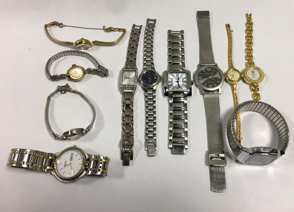 Group Of Misc. Wrist Watches