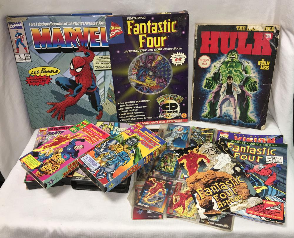 Group Of Marvel Collectibles, Misc.