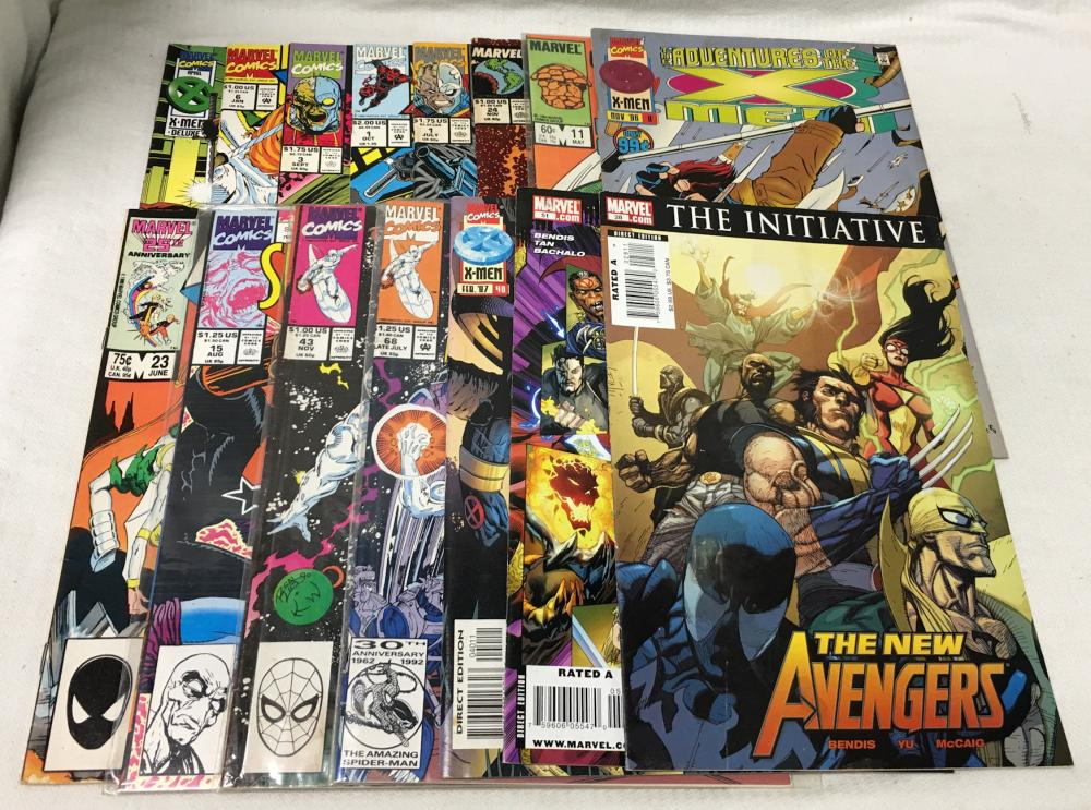 15 Comic Books, Marvel