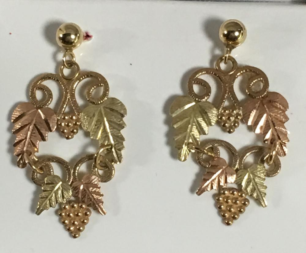 Pair Of 10k Gold Earrings