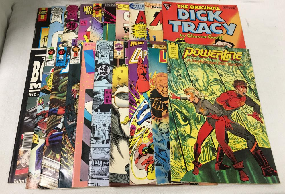 20 Comic Books, Misc.