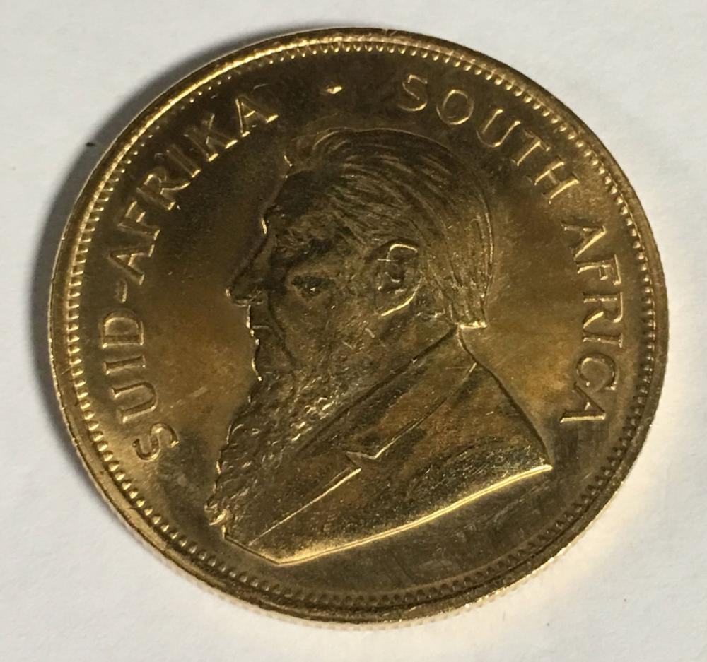 1979 Krugerrand 1 Oz. Fine Gold Coin, South Africa