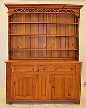 Ethan Allen Pine Kitchen Cabinet