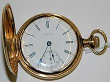 14 kt. gold Waltham Pocket Watch
