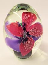Signed Art Glass Paper Weight