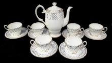 Queen Anne Fine Bone China Tea Set, Georgian