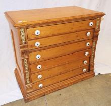 Six Drawer Spool Cabinet