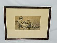 Framed Print of Mother and Child