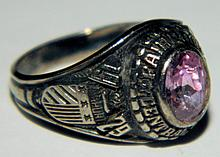 Fairport Central School Class Ring