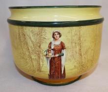 Royal Doulton Bowl W/ Portrait Of Lady, Anne Pase