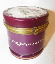 Hand Painted Dresser Jar