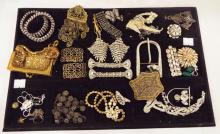 Group Of Rhinestone Jewelry And Misc.