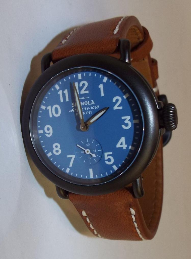 Shinola argonite 1069 detroit wrist watch for Argonite watches