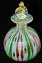 Murano art glass perfume bottle