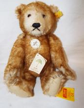 Steiff Teddy Bear Petsy With Button & Paper Label